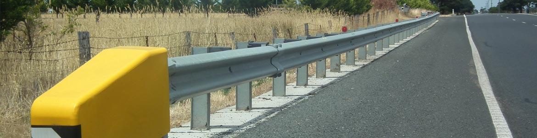 Turchi - Guardrail Post Driving
